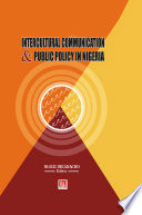 Intercultural Communication and Public Policy Book PDF