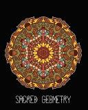 Sacred Geometry  Thanksgiving Mandala Art Journal Cover  Cornell Lined Notebook   Geometric Design for Yoga  Meditation  Dream Diary Or
