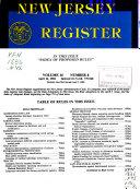 The New Jersey Register
