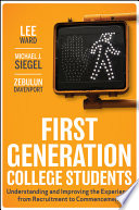 First Generation College Students Book