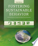 """Fostering Sustainable Behavior: An Introduction to Community-Based Social Marketing (Third Edition)"" by Doug McKenzie-Mohr"
