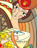 Modern Art Coloring Book for Grown Ups 1