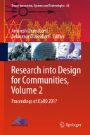 Research into Design for Communities, Volume 2 Pdf/ePub eBook