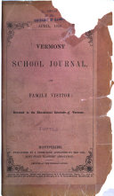 Vermont School Journal and Family Visitor