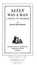 Satan was a Man Book