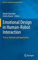Thumbnail Emotional design in human-robot interaction