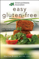American Dietetic Association Easy Gluten Free Book PDF