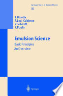 Emulsion Science
