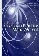 Fundamentals of Physician Practice Management Book