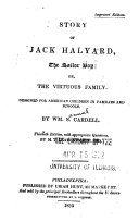 Story of Jack Halyard, the Sailor Boy, Or, The Virtuous Family