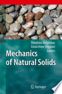 Mechanics of Natural Solids