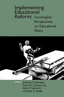 Implementing Educational Reform