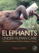 Pdf Elephants Under Human Care Telecharger