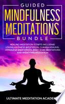 Guided Mindfulness Meditations Bundle Book