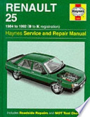 Renault 25 Service and Repair Manual