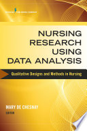 Nursing Research Using Data Analysis Book PDF