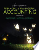 Horngren S Financial Managerial Accounting PDF