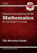 New Edexcel International GCSE Maths Revision Guide - For the Grade 9-1 Course