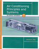 Air Conditioning Principles and Systems Book