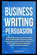 Business Writing Persuasion