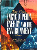 The Wiley Encyclopedia of Energy and the Environment  2 Volume Set