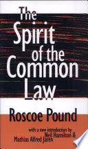 The Spirit of the Common Law Read Online