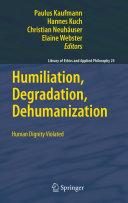 Humiliation, Degradation, Dehumanization Pdf/ePub eBook