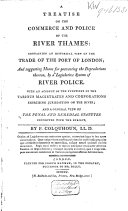 Pdf A Treatise on the Commerce and Police of the River Thames