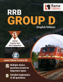 RRB Group D   15 Practice Sets and Solved Papers Book for 2021 Exam with Latest Pattern and Detailed Explanation by Rama Publishers