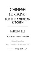 Pdf Chinese Cooking for the American Kitchen