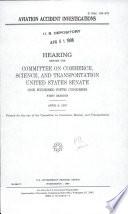 Aviation Accident Investigations Book PDF