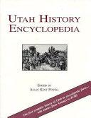 Utah History Encyclopedia Book
