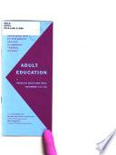 Adult Education in American Education Week  November 9 15  1958