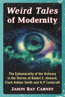 Weird Tales of Modernity [Pdf/ePub] eBook