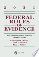 Federal Rules of Evidence  With Advisory Committee Notes and Legislative History Book