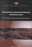 International Commercial Arbitration and African States