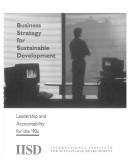 Business Strategy for Sustainable Development