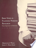Basic Steps In Planning Nursing Research