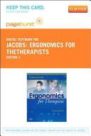 Ergonomics for Thetherapists