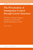 The Privatisation of Immigration Control through Carrier Sanctions