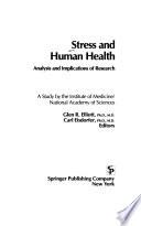 Stress and Human Health