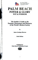 Palm Beach Power and Glory  Wit and Wisdom