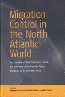 Migration Control in the North-atlantic World Pdf/ePub eBook