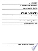 A Directory of Information Resources in the United States