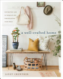 A Well-Crafted Home Book