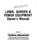 Lawn  Garden   Power Equipment