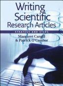 Writing Scientific Research Articles [Pdf/ePub] eBook