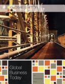 Global Business Today   Global Edition
