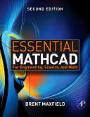 Essential Mathcad For Engineering Science And Math Book PDF