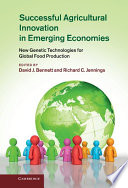 Successful Agricultural Innovation in Emerging Economies Book